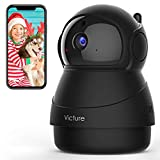 Victure Caméra de Surveillance,1080P Caméra WiFi sans Fil, Caméra Dome IP Intérieur, Vision Nocturne, Détection de Mouvement,...