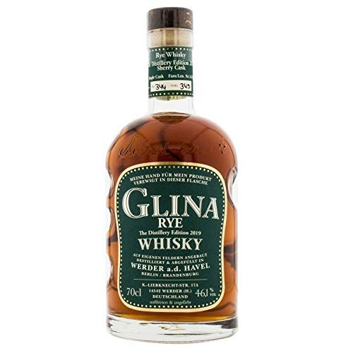 Glina Rye Whisky Distilllery Edition 2019 46,1% Vol (1 x 0,7l)