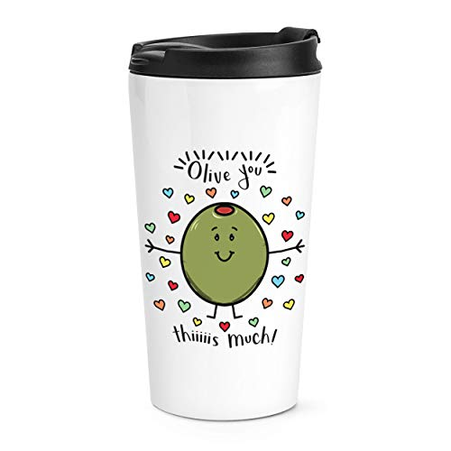 Olive you this much voyage tasse