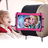 """Car Tablet Holder/Car Headrest Mount Holder for Kids in Back Seats, 360° Rotating Adjustable Universal Tablet Holder, Compatible with 7-10.5"""" Tablet/iPad/iPad Mini/Nintendo Switch"""