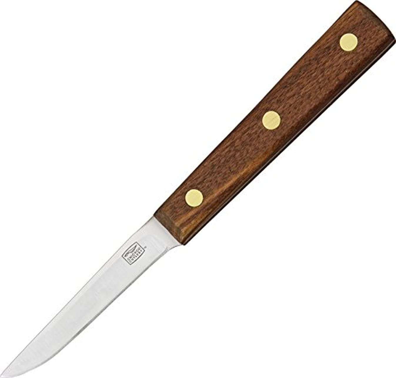 Chicago Cutlery 102SP Walnut Tradition 3-Inch Slant Tip Paring Knife