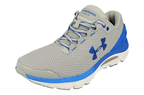 Under Armour Charged Gemini 2020 Mens Running Trainers 3023276 Sneakers Shoes (UK 9 US 10 EU 44, Grey 102)