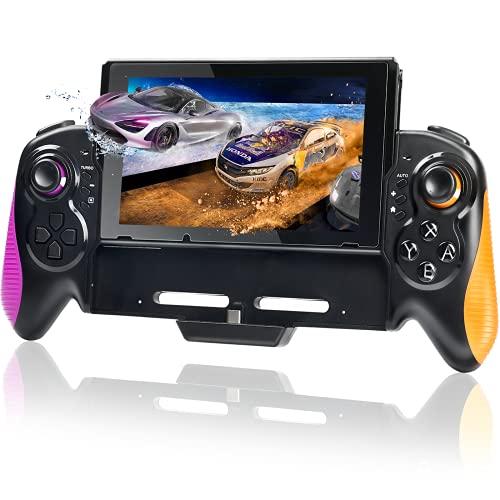 Pro Controller for Nintendo Switch, Ergonomic Controller with Handheld Mode, Switch Grip Controller, Adjustable 6-Axis Gyro, Dual Motor Vibration, Turbo, Auto Function
