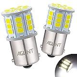AGLINT LED Lampadine 1156 BA15S P21W 12V 24V 33SMD per RV Auto Retromarcia Parcheggio Luci Posteriori, DRL Luci di Marcia Diurna Indicatore di Fanalini Direzione Lampadine Bianca 6000K