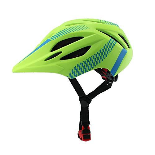 Helmet HCGS Kids LED Mountain MTB Road Bicycle Helmet Detachable Pro Protection Children Full Face Bike Cycling Helmet Green