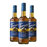 Torani Sugar-Free Classic Caramel, 25.4-Ounce (Pack of 3)