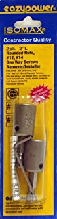 Eazypower 88242 Get It Out One Way/Rounded Screw Removers, 12 & #14, (1 Setper Pack)