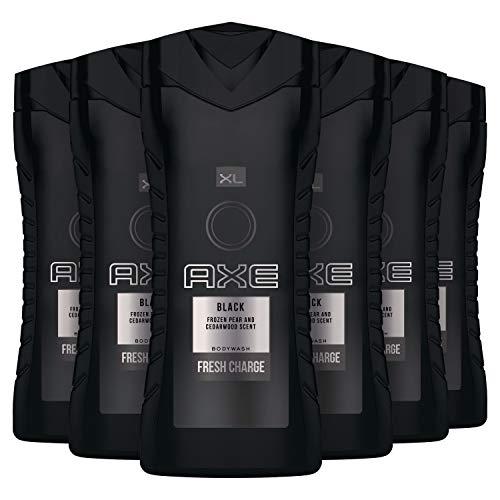 AXE Black Douchegel 6 x 400 ml Voordeelverpakking