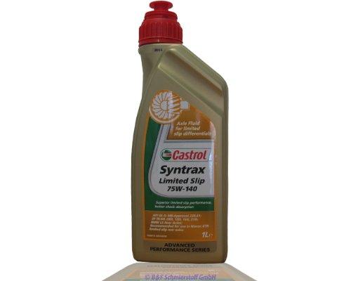 Castrol Syntrax Limited Slip 75w-140 1x 1 Liter
