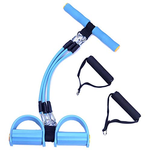 LIJJY Gewichtsverlust Pull Rope Abdominal Trainers mit Handle Resistance Band Multifunktion Leg Reterciser Pull-up Exerciser Sit-up Exerciser