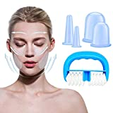 Silicone Cupping Therapy Set Anti Cellulite Cups with Body Massage Cups Chinese Cupping Therapy Sets for...