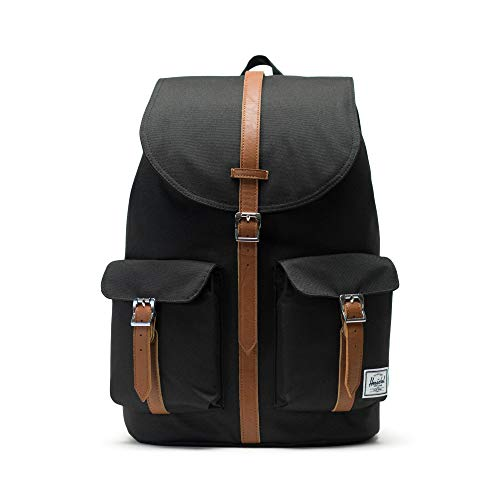 Herschel Supply Company SS16 Casual Daypack, 20.5 Liters, Black/ Tan