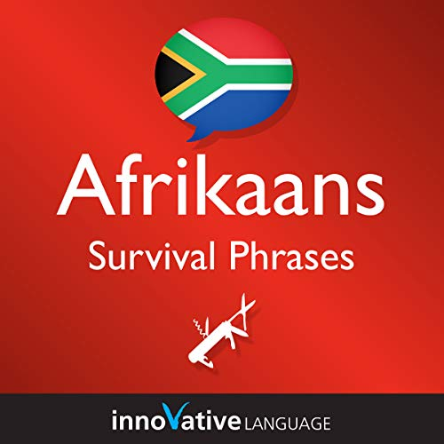 Learn Afrikaans - Afrikaans Survival Phrases, Volume 2 audiobook cover art