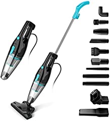 INSE Aspiradora Vertical con Cable 16KPA Portable Ligero Poderosa Aspirador Escoba Hogar para Pelo de Mascota