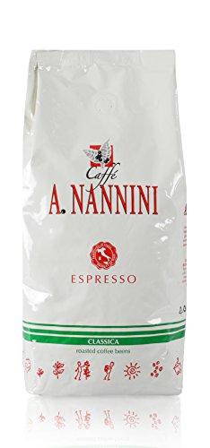Caffè A. Nannini Classica, Bohne, 1er Pack (1 x 500 g)