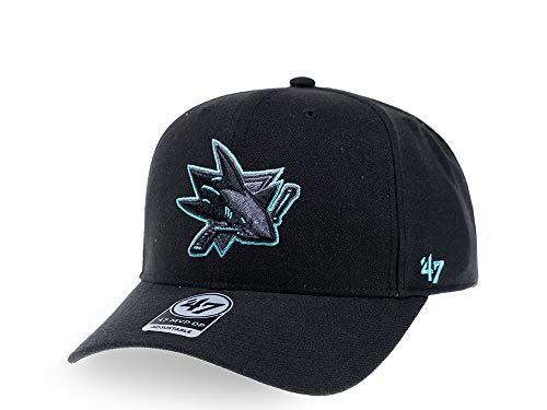 47Brand San Jose Sharks Color Detail MVP DP Snapback - Gorra de...