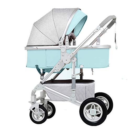 Best Prices! Baby carriage PeaceipUS Baby Stroller, Folding Lightweight Shock Absorber Children Push...