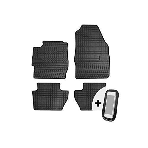 test moto-MOLTICO Gummibodenmatte Auto Bodenmatte Gummi Auto Bodenmatte Benutzerdefiniertes 4er-Set – Geeignet für… Deutschland