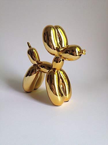 SXSYZZCL standbeeld, gouden ballon Pop kunst hars ambachtelijke ballon beeldje Valentine geschenk, huis decoratie accessoires