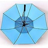 FGJSA Spray Fan Umbrella Long Handle Summer Cooling Umbrella Sunny Rainy Day Dual Purpose Waterproof Portable Ultralight Travel-30