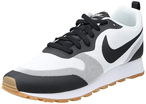 Nike Herren MD Runner 2 19 Leichtathletik-Schuh, Weiß, Schwarz, 42 EU