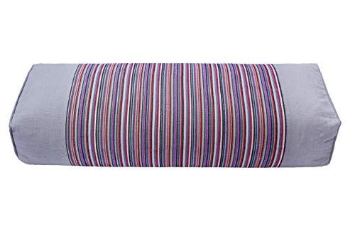 Almohada de trigo sarraceno 100% orgánico grueso gamuza paquete. La funda de almohada ha masaje efecto. Mejorar la Calidad del sueño. (hecho en China)