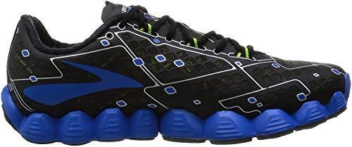 Brooks Neuro schwarze und blaue-Schuhe Running, Schwarz Blau, 42 EU
