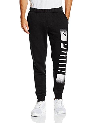 PUMA Rebel FL Pantaloni, Unisex, Rebel FL, Cotton Black, XXL