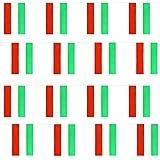 UNGARISCH FLAGGE FAHNE UNGARN PARTY EURO DEKORATION GROß EUROPÄISCH RIESIG 20 X 30CM ALLWETTER PLASTIK FAHNENTUCH EREIGNIS BANNER SCHULE NATIONAL DAY THEMA - UNGARISCH FLAGGE FAHNE, 33FT - 10 METERS