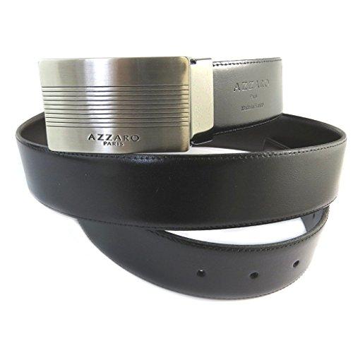Les Trésors De Lily Ledergürtel 'Azzaro'schwarz braun - 35 mm.
