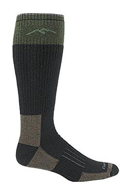 Darn Tough Hunter Over The Calf Extra Cushion Sock - Men's Charcoal Large