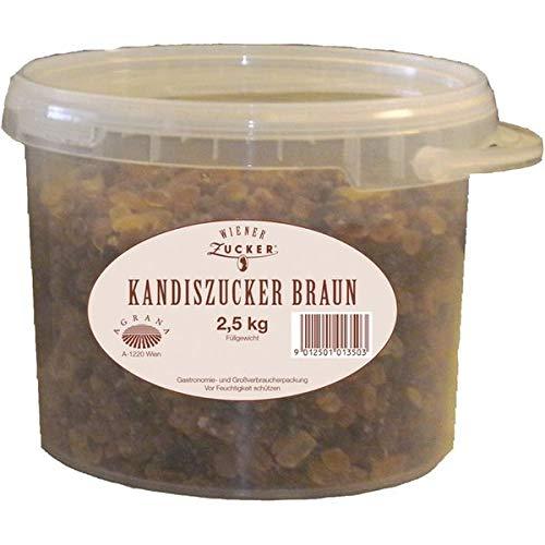 Wiener Kandiszucker braun 2,5kg