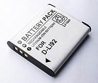 【 バッテリー 単品 】 PENTAX D-LI92 互換 バッテリー WG-4 / WG-4 GPS/WG-20 / WG-2 等 対応 互換品