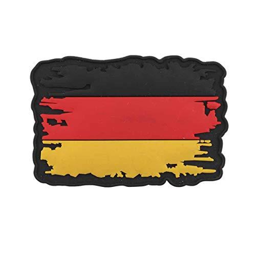 VAN OS Emblem 3D Rubber Patch USA Vintage Flagge 5 x 7,8 cm Klett Abzeichen Deutschland