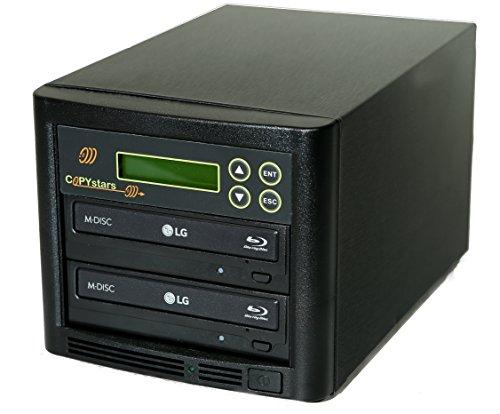 Copystars Blu Ray Duplicator 16X BD-R BDXL CD DVD Burner Duplicator 1 to 1 Target Tower