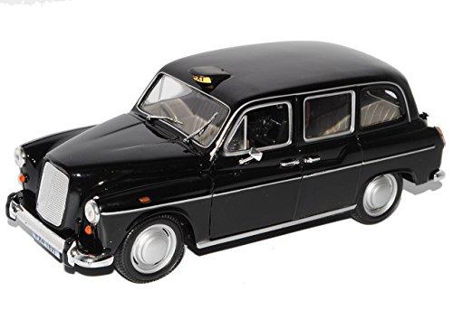 Welly Austin FX4 London Taxi Schwarz Ab 1989 1/24 Modell Auto mit individiuellem Wunschkennzeichen