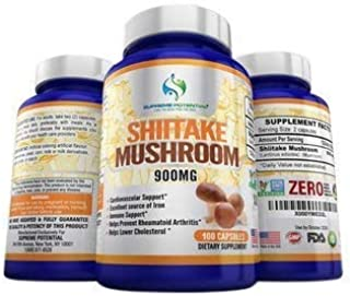 Supreme Potential AHCC 100% Pure Shiitake Mushroom Extract - 900mg - 200 Capsules