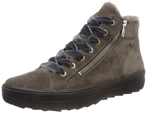 Legero Damen Mira Hohe Sneaker, Braun (Vigogna 27), 42.5 EU (8.5 UK)