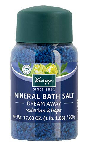 Kneipp Mineral Bath Salt, Dream Away, Valerian & Hops, 17.63 fl. oz.