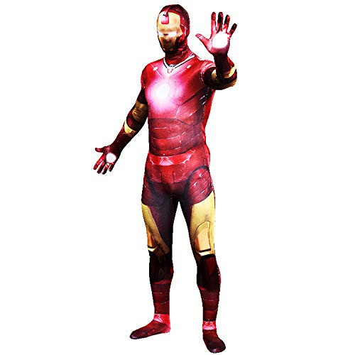 FYBR - Costume da Iron Man, per Adulti, Unisex, in Lycra, Extra-Large