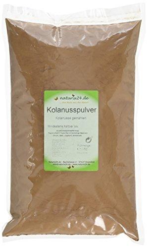 Naturix24 Kolanuss Pulver, Kolanüsse gemahlen – Beutel, 1er Pack (1 x 1 kg)