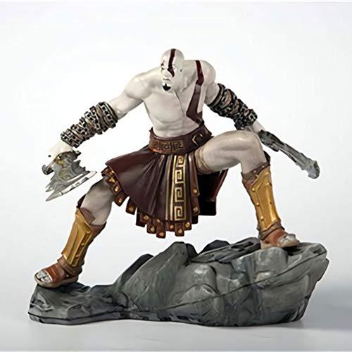 WDXFD Animation Figur God of War 3 Ultimative Kratos Abbildung Figuren Statue 18CM