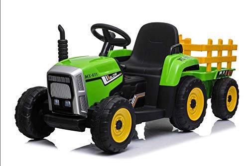opiniones tractor bateria 12v calidad profesional para casa