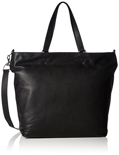 BREE Stockholm 34, black, tote bag 184900034 Damen Shopper 38x14x40 cm (B x H x T), Schwarz (black 900)