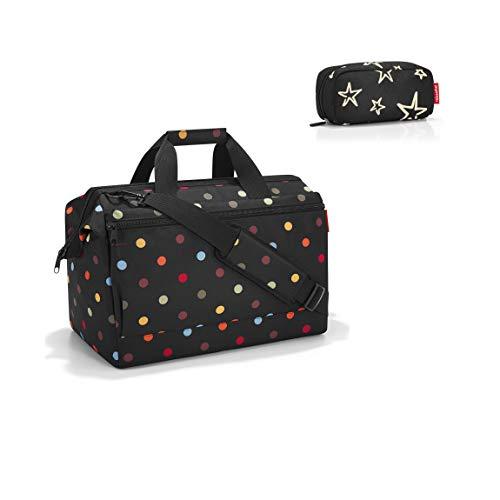 reisenthel Allrounder L Pocket dots Reisetasche 48cm, 32 l Plus multicase Kosmetiktasche Stars