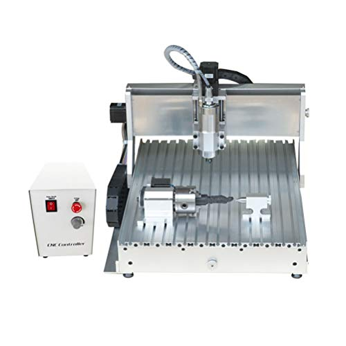 For Sale! TEN-HIGH 4060 1500W CNC Router Engraving Drilling Milling Machine,USB Port with 4th Axis.