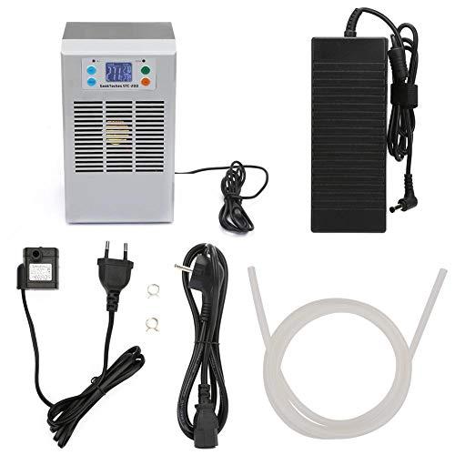 100-240 V Aquarium Wasserkühlung Heizung Thermostat für Aquarium, Aquarium Wasserkühler mit Pumpe Kit Aquarium Chiller(20L EU Plug)