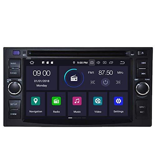 KLL Android 10 Car DVD GPS Stereo para KIA Optima Cerato Spectra Sorento/Carens/Sportage/Carnival/CEED/Rio/Rondo/Lotze/X-Trek/Sedona/Picanto/Morning Navigation Ra