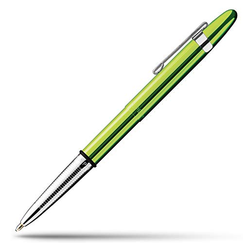Fisher Space Pen Bullet Pen - 400 Series - Lime Green w/ Clip - Gift Boxed
