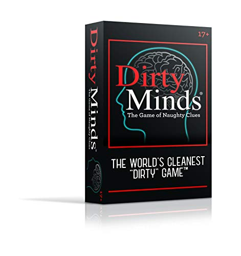 TDC Games Dirty Minds Party Game - Soft Touch Packaging